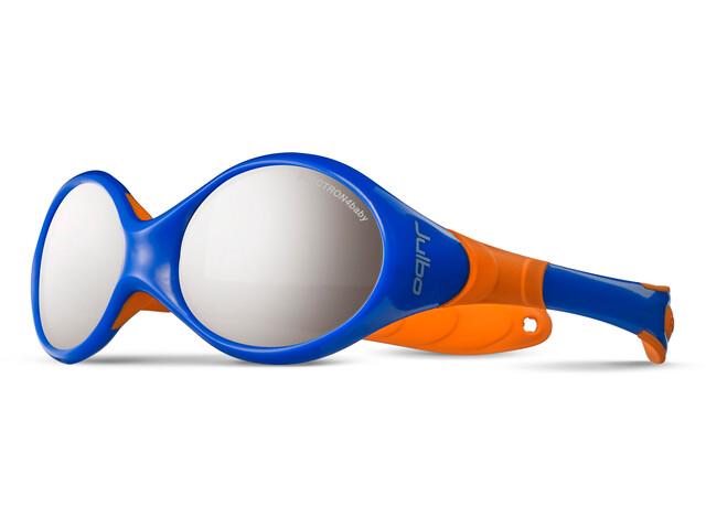 Julbo Looping II Spectron 4 Sunglasses 12-24M Kinder blue/orange-gray flash silver